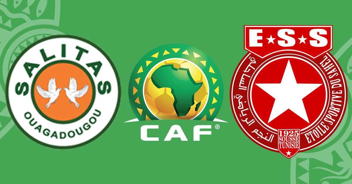 مشاهدة مباراة النجم الساحلي ضد ساليتاس 28-04-2021 بث مباشر في الكونفدرالية الافريقية