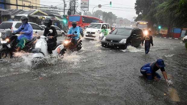 Banjir Rendam Ibu Kota Jakarta di Awal 2020