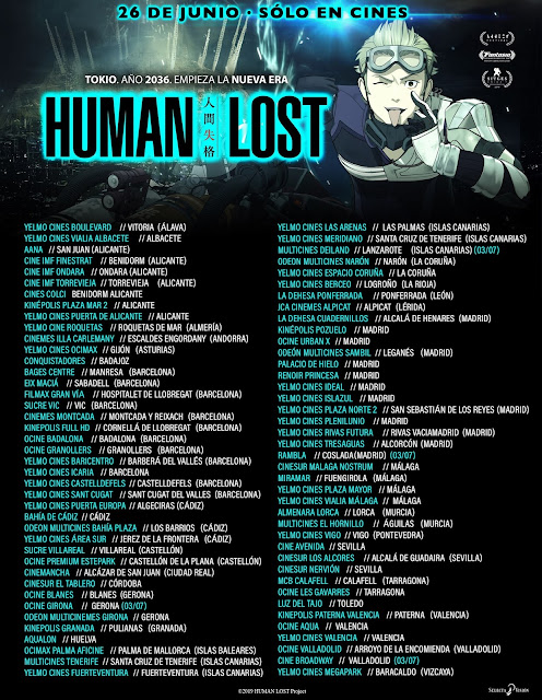 HUMAN LOST, de Fuminori Kizaki, estreno hoy en cines.