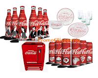 Logo Concorso Coca-Cola ''Il gusto che ci unisce'' : gioca e vinci 232 premi (mini frigo, ghiacciaie ecc)
