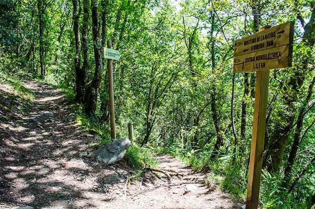 ruta Ventureira-Monasterio de Caaveiro