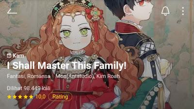 I Shall Master This Family Manhwa