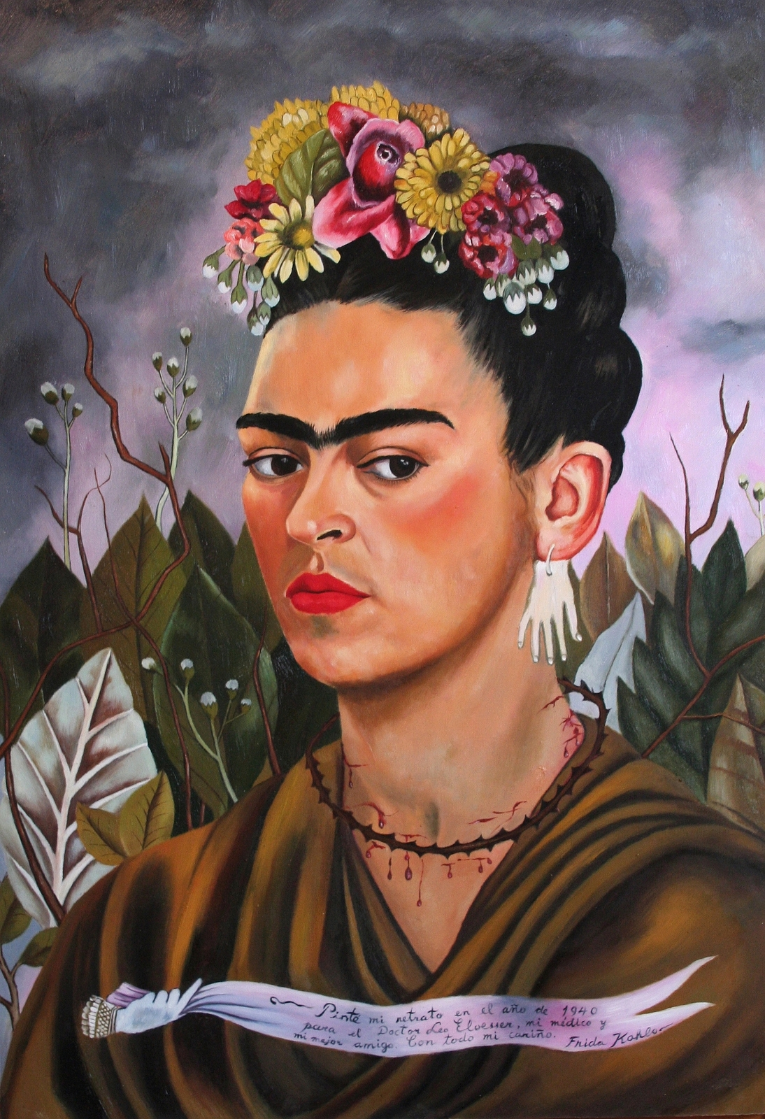 frida khalo Frida kahlo - the complete works, large resolution images, ecard, rating, slideshow and more one of the largest frida kahlo resource on the web.
