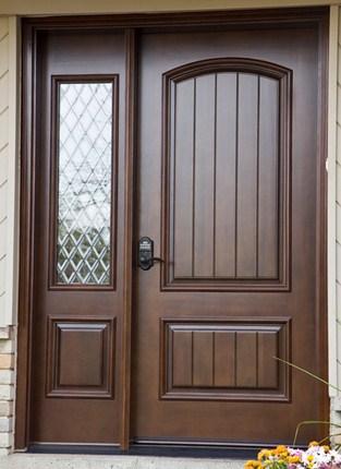 model pintu minimalis jati