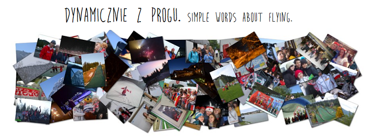 Dynamicznie z progu. Simple words about flying.