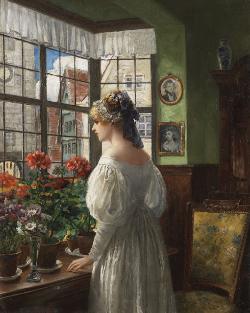 Carl Rohling, Дама у окна