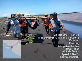 Judul : Mayat Pencari Rumput Ditemukan di Laut