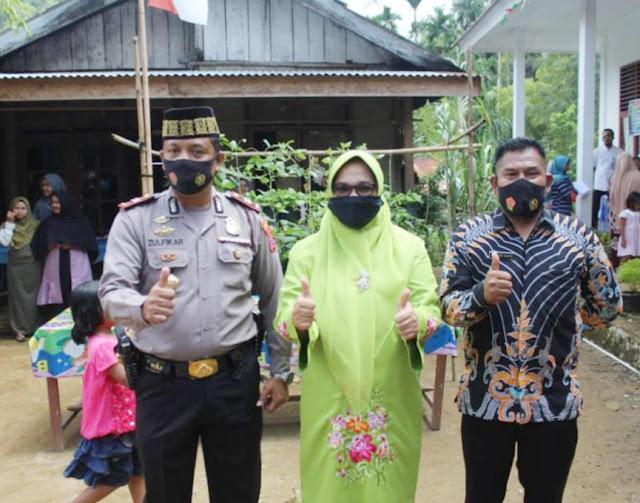 Jumling (Jumat keliling) di kecamatan Gunung Tuleh di Sambut Hangat Camat dan Masyarakat