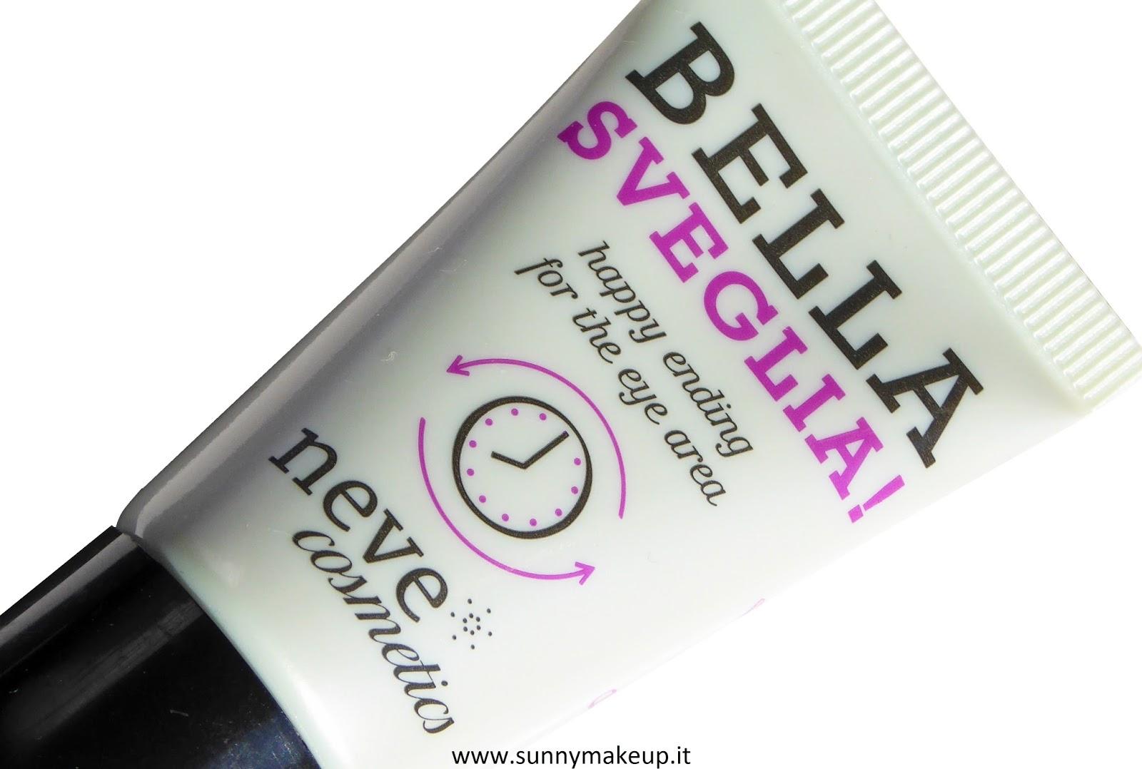Neve Cosmetics - Bella Sveglia!. Crema contorno occhi