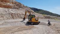 sanacija županijske ceste uvala Vela Farska Nerežišća slike otok Brač Online