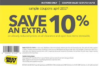 Best Buy coupons april 2017
