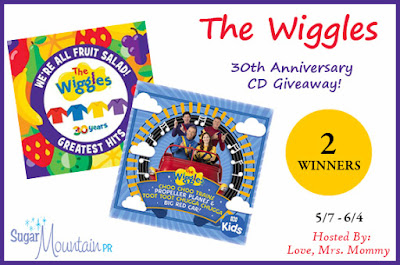 The Wiggles, Wiggles 30th Anniversary, Wiggles CD, Wiggles Greatest Hits, Kids Music