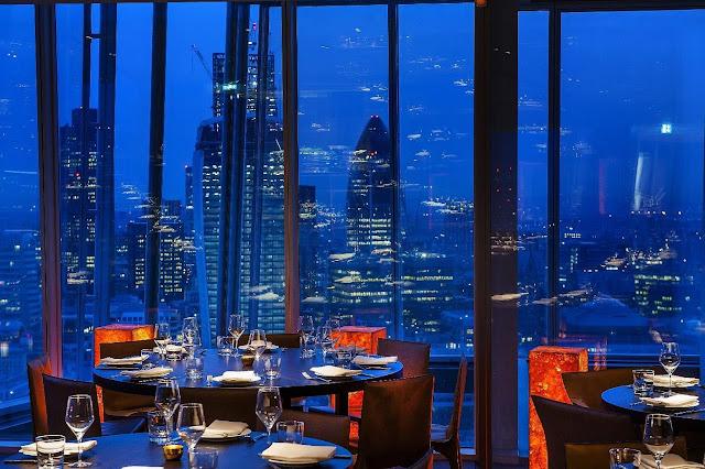 Nhà hàng Aqua Shard, London