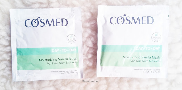 Cosmed Ürünlerim | Temizleme Jeli, Nemlendirici Krem ve Vanilyalı Nem Maskesi