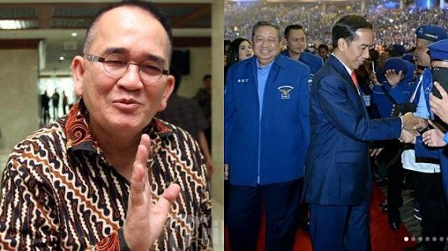 Jokowi Sukses Bikin Kader Demokrat Terbahak-bahak, Jadi Ingat Ruhut Sitompul pernah Bilang Begini