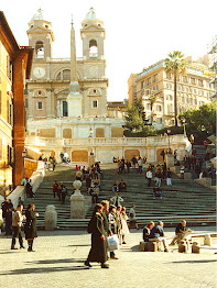 The Spanish Steps is one of Rome's favourite landmarks