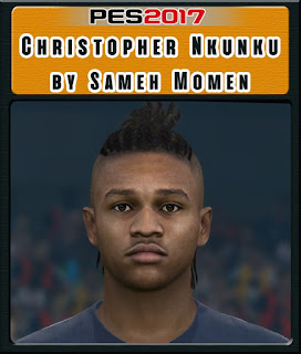 PES 2017 Faces Christoper Nkuku by Sameh Momen