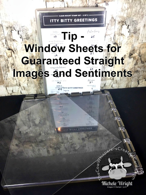 Tip, Window Sheets, Straight Stamping, Stamparatus