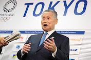 Jelang Perhelatan Olimpiade Yoshiro Mori Tolak Mengenakan Masker