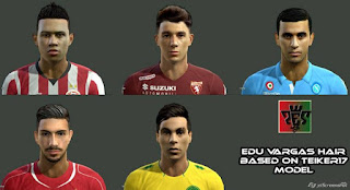 Faces: 1.Depay 2.Darmian 3.Ghoulam 4.Emre Can 5.Vargas, Pes 2013