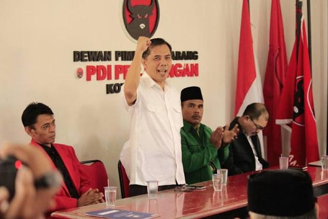 Wali Kota Cimahi Terjaring OTT KPK Merupakan Ketua DPC PDIP