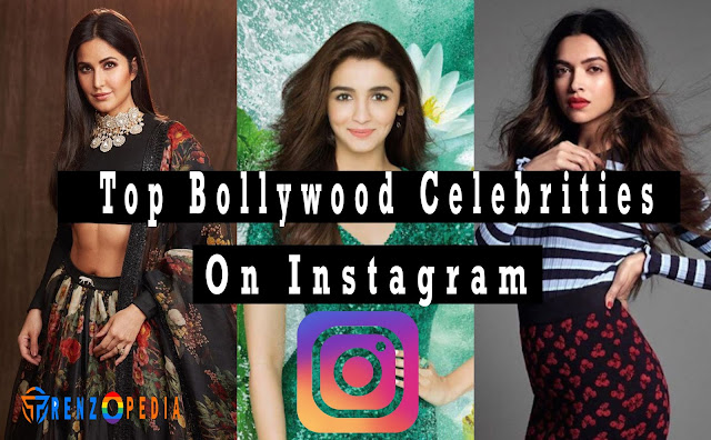The Top Bollywood Celebrities On Instagram