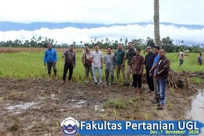 Mahasiswa Fakultas Pertanian UGL, Mengunjungi Lokasi Praktek Kerja Lapangan (PKL) | UGL Kutacane