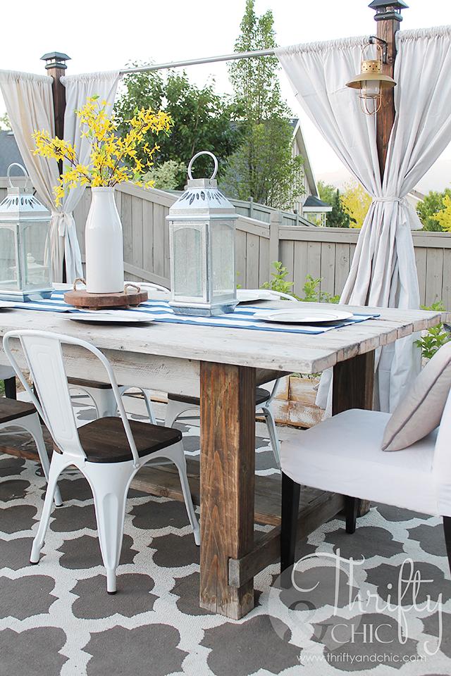 DIY Outdoor Patio Decor And Decorating Ideas