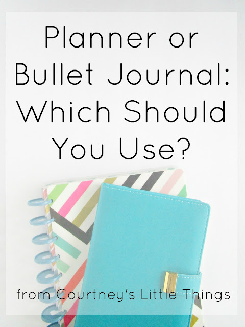 Which is better? Planner or Bullet Journal?
