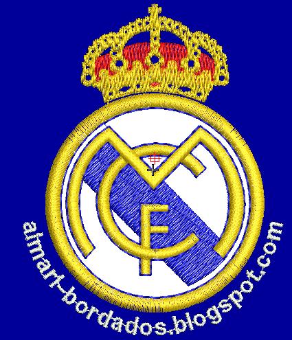 ESCUDO REAL MADRID PARA BORDAR