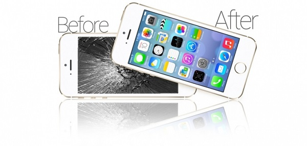 Thay mat kinh iPhone 5 chinh hang
