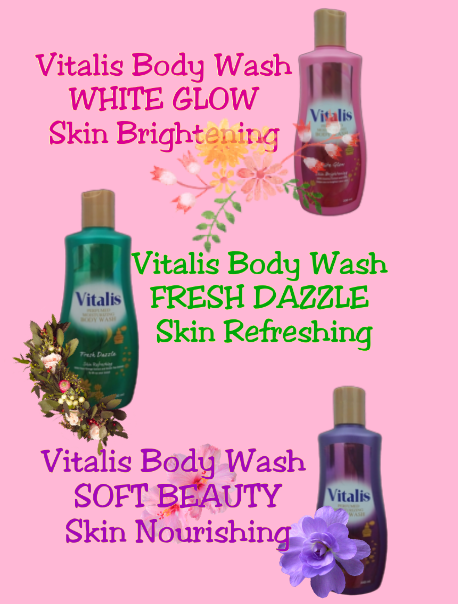 Vitalis Body Wash, mandi Parfum