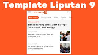 Template Blogger Mirip Liputan 6