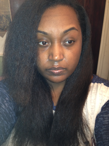 The Part That Stops A Little Over My Shoulder Is Hair Out In Front And Rest Weave When N It Looks Identical To