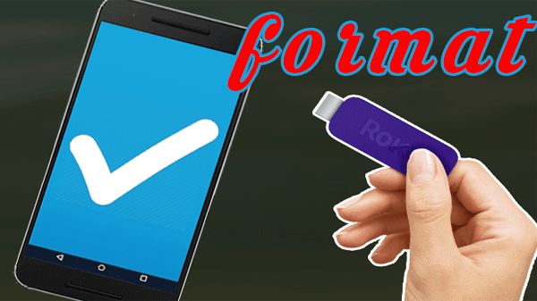 Learn how to format USB flash drive that won't let you do it to use only phone Formate