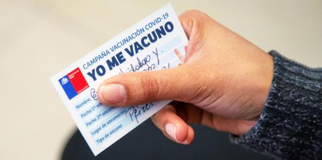 AFP, vacunación, enfermedades crónicas
