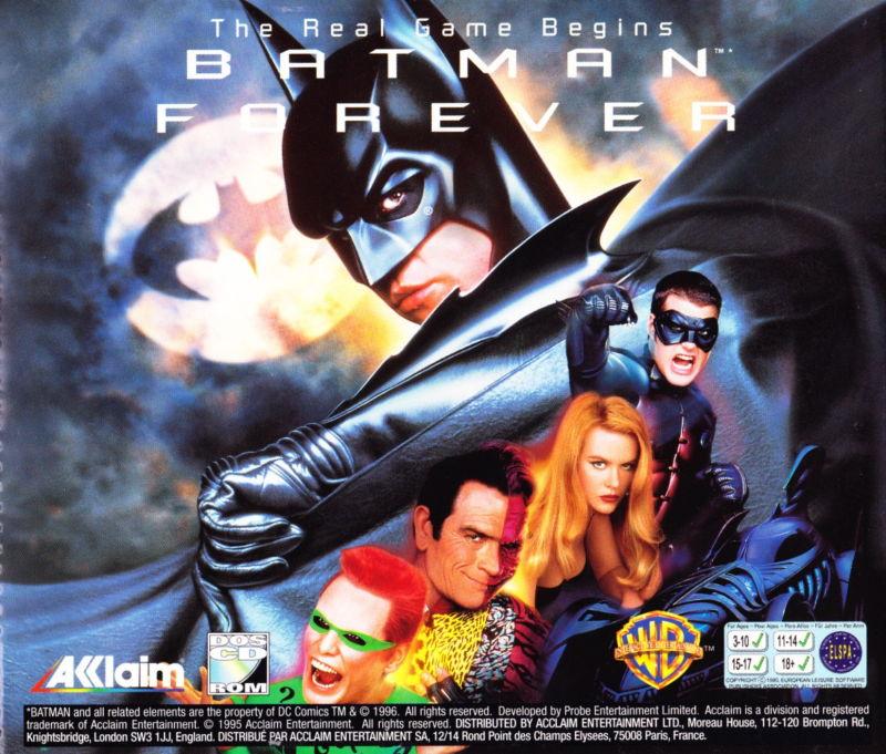 تحميل لعبة باتمان القديمة للكمبيوتر - Batman: Forever