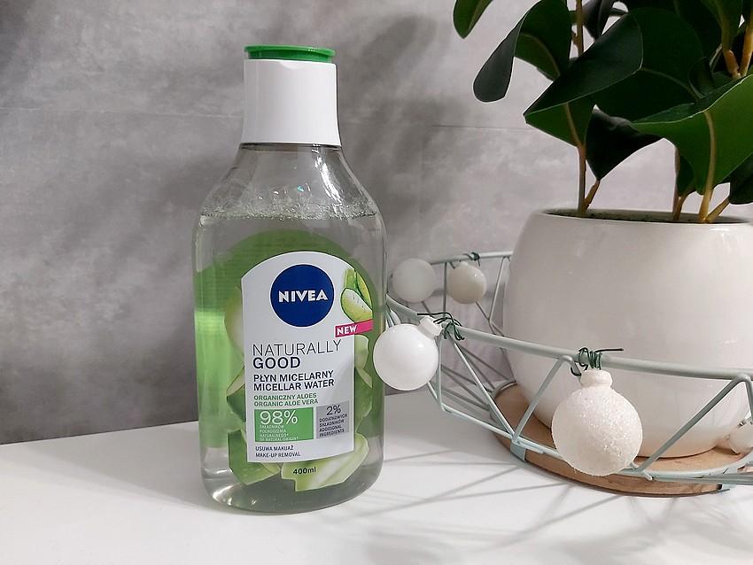 nivea naturally good płyn micelarny z organicznym aloesem