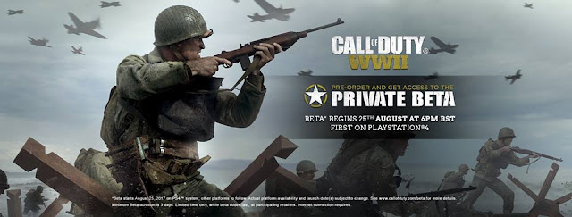 Call-of-Duty-WwII-Private-Beta-August-25-Download