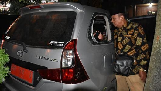 Hadiri Pembukaan MTQ di Solok, Kaca Mobil Dinas Pemko Padang Dipecahkan, Sejumlah Barang Dicuri