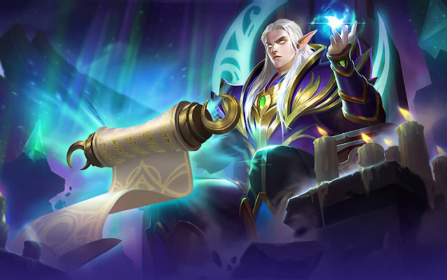 Estes Moon Elf King Heroes Support of Skins Mobile Legends Wallpaper HD for PC