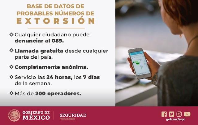 CREARÁ SSPC NUEVA BASE DE DATOS PARA COMBATIR EFECTIVAMENTE LA EXTORSIÓN