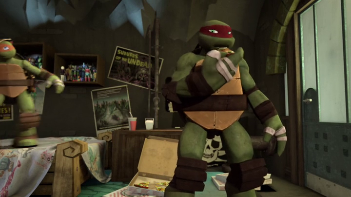 Squer S Tmnt Collection Movie Posters In Mikey S Room Ntmnts02e02