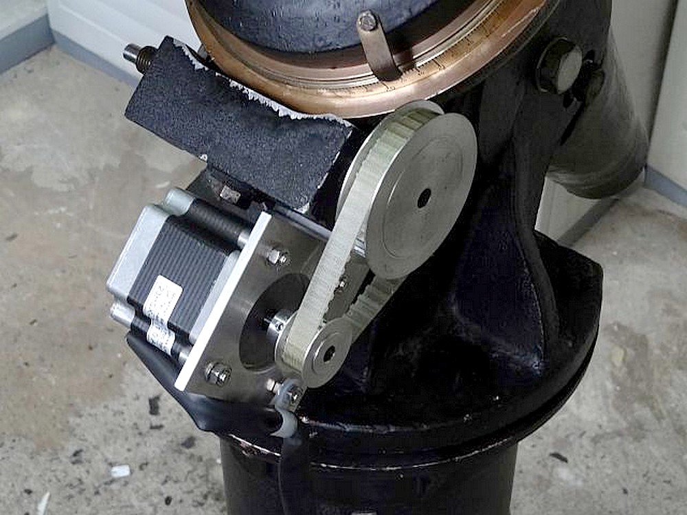 Fullerscopes telescope mountings a fullerscopes mkiv with for What are stepper motors