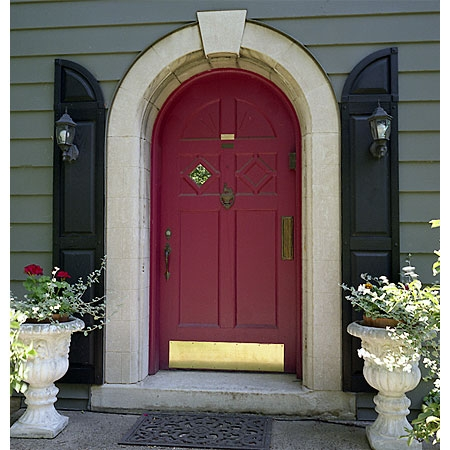 Very Merry Vintage Syle The Beauty Of Arched Entry Doors