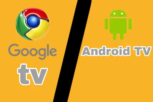 كيف يتفوق Google TV على Android TV