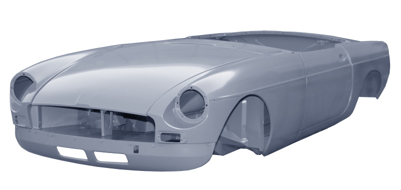 MGB Roadster New Bodyshell