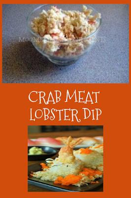 Crab Meat Dip Lobster Dip Recipe