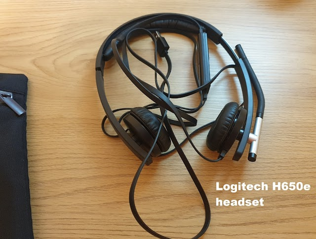 Logitech H650e headset review