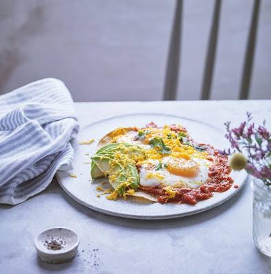 وجبة الفطور المكسيكية غنية بالروتين